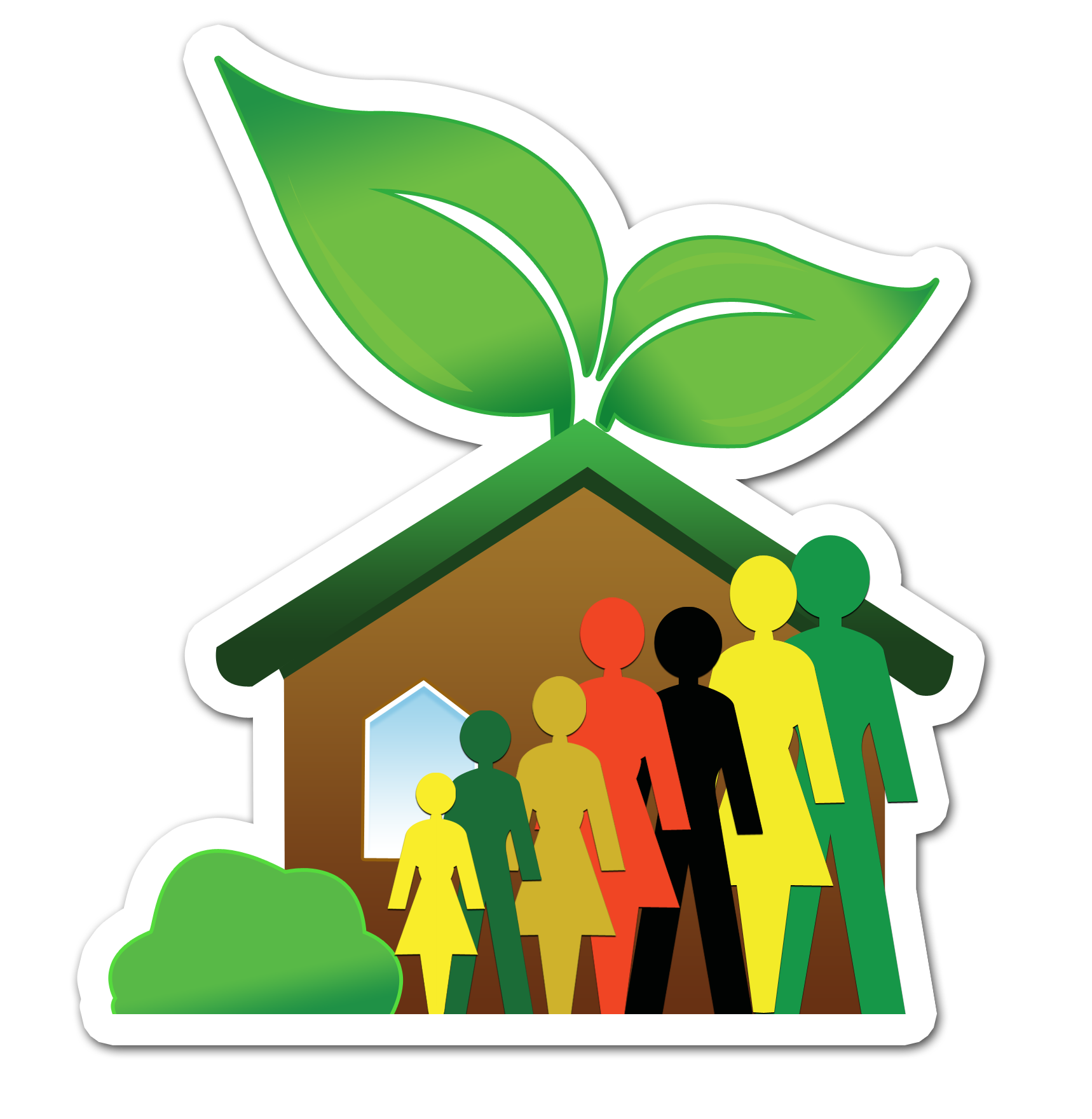 Whole Family Products Health Logo
